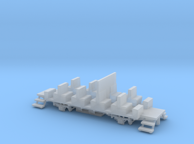 YsteC B21 Chassis H0m (1:87) in Smooth Fine Detail Plastic