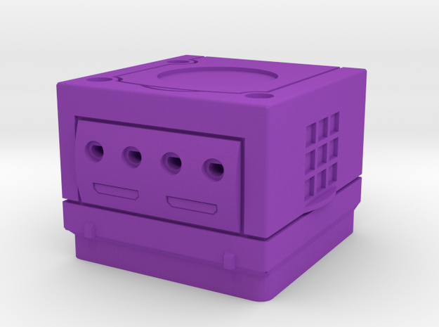 Cherry MX - Keycap - Gamecube in Purple Strong & Flexible Polished