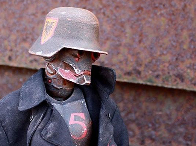 """Iron Skull"" custom 1:6th scale head"