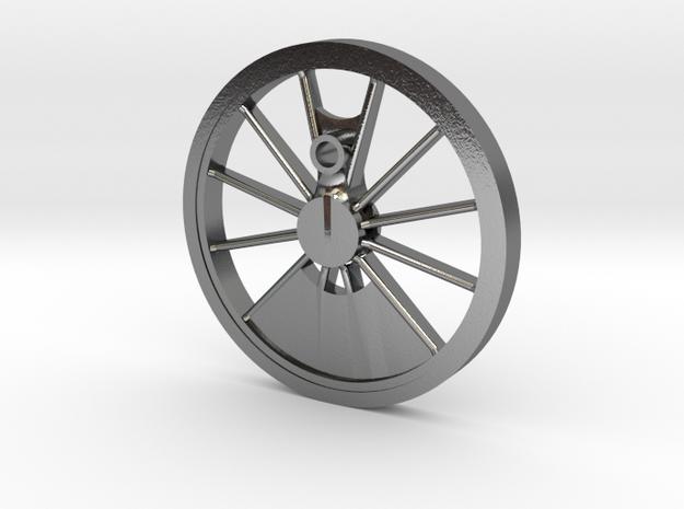 Reno, Inyo, Genoa Driver Wheel in Polished Silver