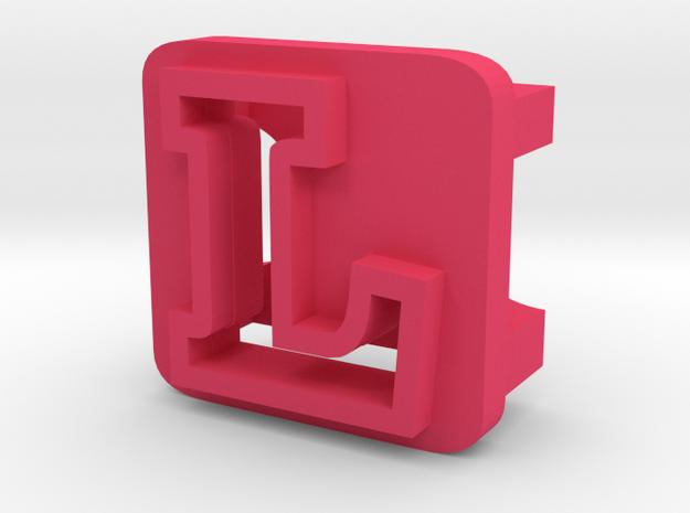 BandBit L1 for Fitbit Flex in Pink Processed Versatile Plastic