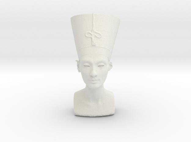 Original Egyptian Queen Nefertiti bust 3D scanned.