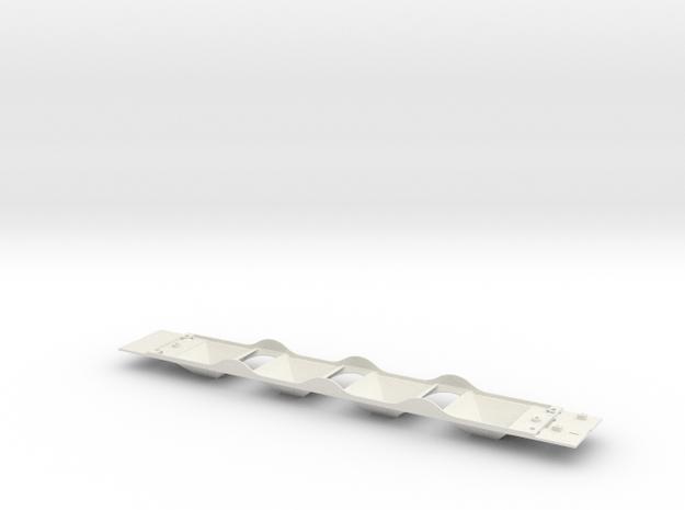 NSC 6320 Hopper Chassis for Grain in White Natural Versatile Plastic