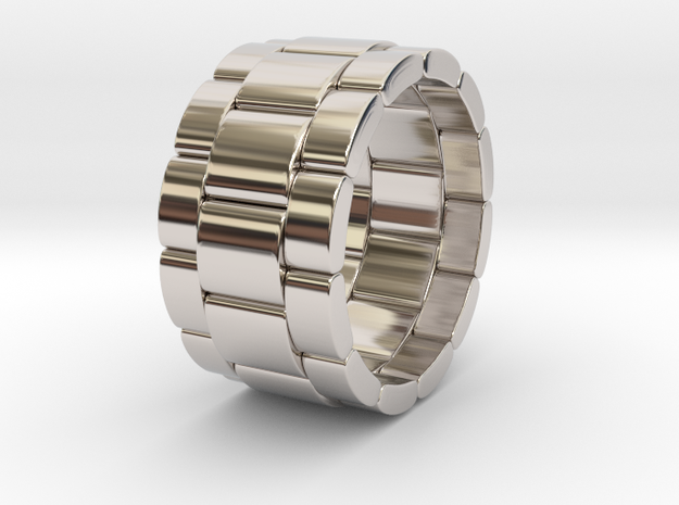 Tibaldo - Ring in Rhodium Plated Brass: 9.5 / 60.25