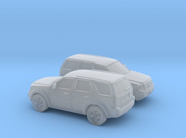 1/160 2X 2008-12 Ford Escape in Smooth Fine Detail Plastic