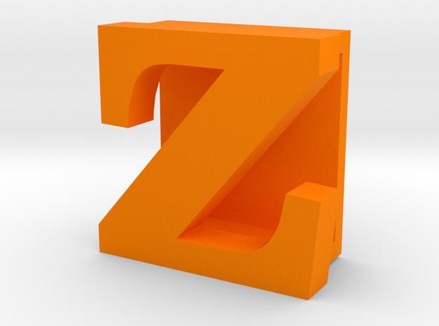 BandBit Z, Fitbit Flex (Fits parallel to strap.) in Orange Processed Versatile Plastic