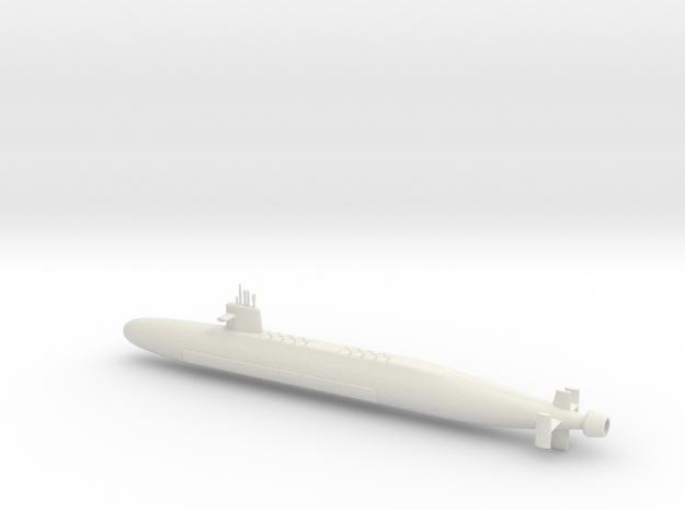 1/600 Le Triomphant Class SSBN in White Natural Versatile Plastic