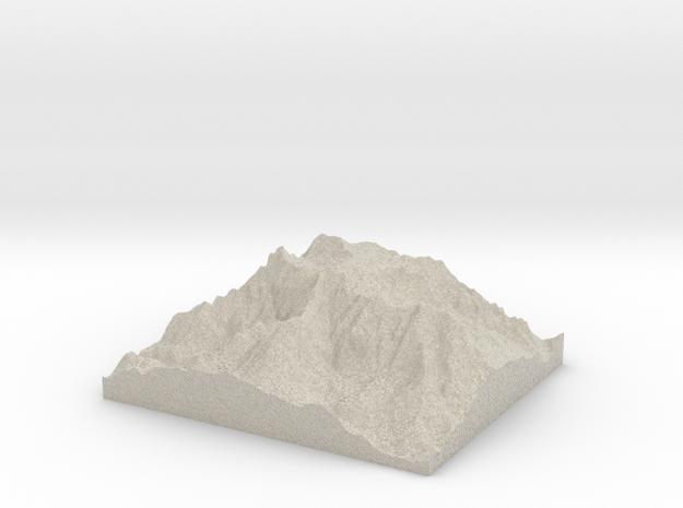 Model of Cima Palon in Sandstone
