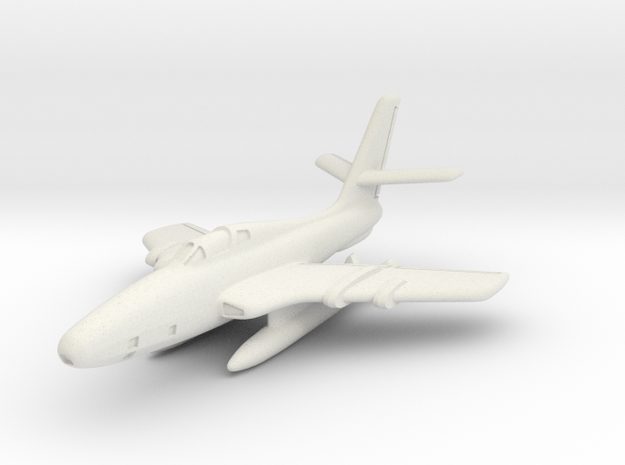Republic RF-84F Thunderflash (In Flight) 6mm 1/285 in White Natural Versatile Plastic