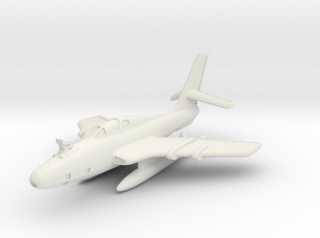Republic RF-84K Thunderflash (FICON) 6mm 1/285 in White Natural Versatile Plastic