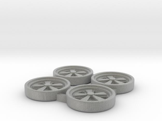 Tapacubos Porsche Fuchs in Metallic Plastic