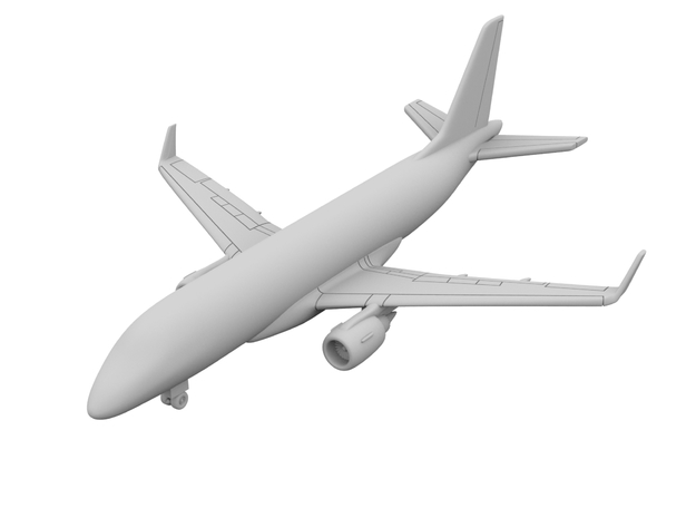 1:500 - EMB 170 [A][x2] in Smooth Fine Detail Plastic