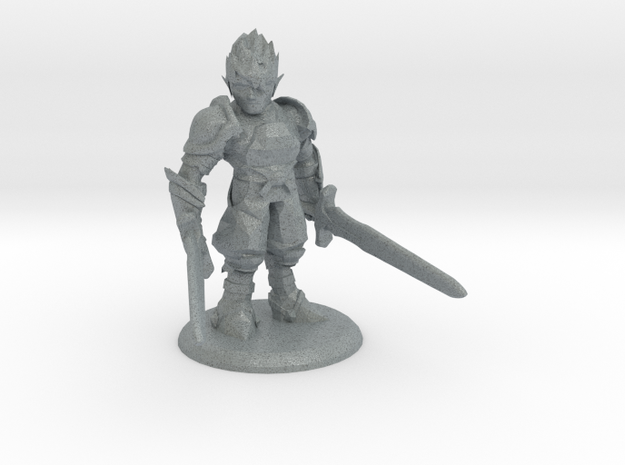 MIKAEL THE DUELIST in Polished Metallic Plastic