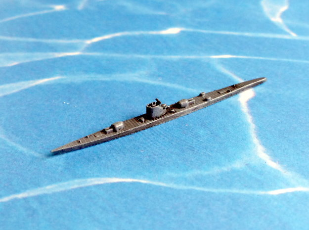 German Submarine Cruiser Type XIb 1/2400 in Frosted Ultra Detail