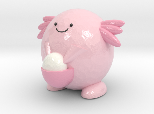 Chansey in Coated Full Color Sandstone