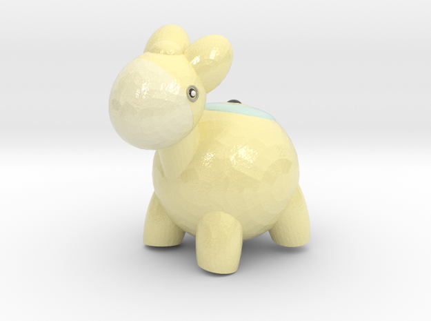 Shiny Numel in Coated Full Color Sandstone