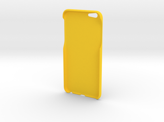 iPhone 6s Plus Case - Basic in Yellow Strong & Flexible Polished