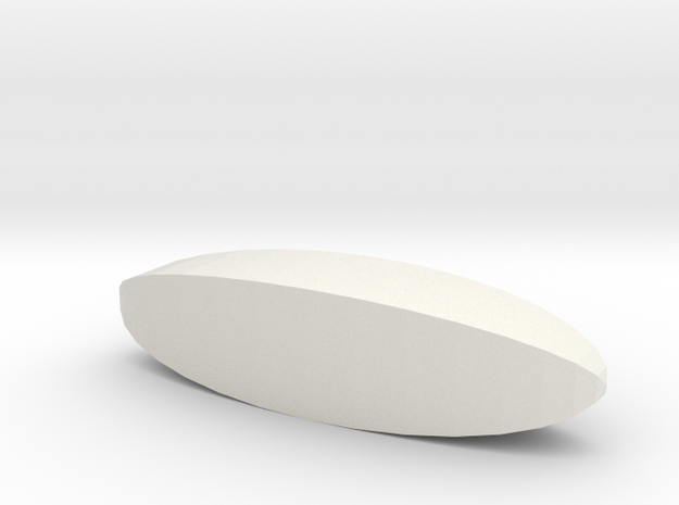 Blank d4 Steinmetz Stick Die in White Natural Versatile Plastic