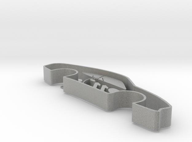 Porsche 911 Cookie Maker in Metallic Plastic