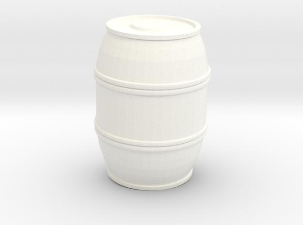 De agostini millennium Falcon Cargo Bay Barrel in White Processed Versatile Plastic