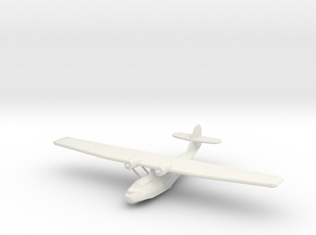 1:200 Catalina PBY-5 in White Natural Versatile Plastic