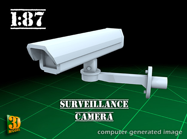 Surveillance Camera (1/87) in Frosted Ultra Detail