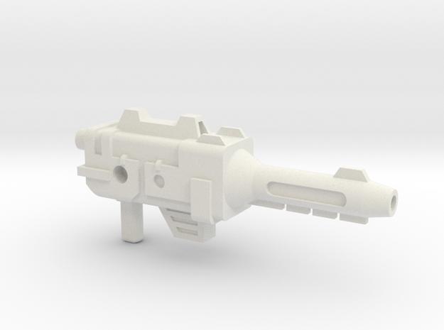 SZT003C Long Haul's Blaster in White Natural Versatile Plastic