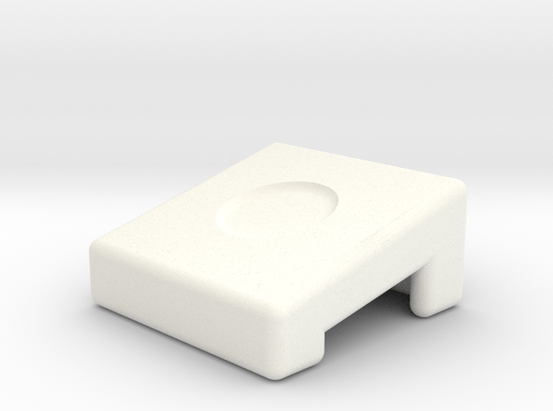 Laptop Wedge in White Strong & Flexible Polished