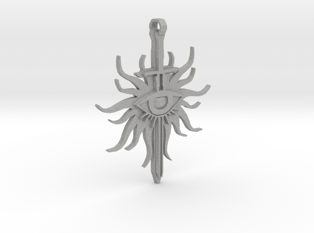 [Dragon Age: Inquisition] The Inquisitor Pendant  in Raw Aluminum