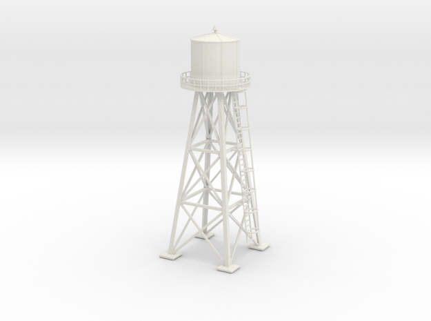 Water tower 01. HO Scale (1:87)