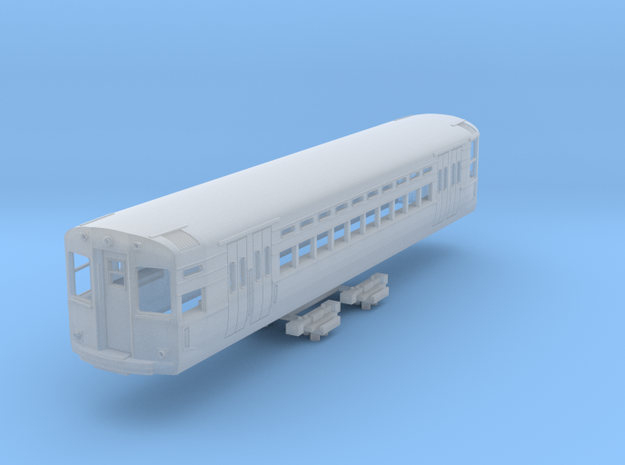 N Scale CTA 1-50 Series Car (3rd Rail Version) in Smooth Fine Detail Plastic