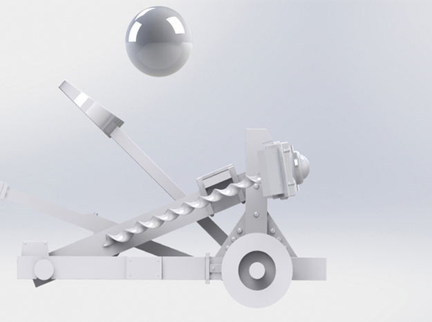 Catapult 3d printed motion 2