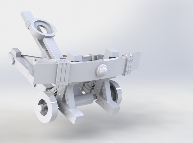 Catapult 3d printed Front