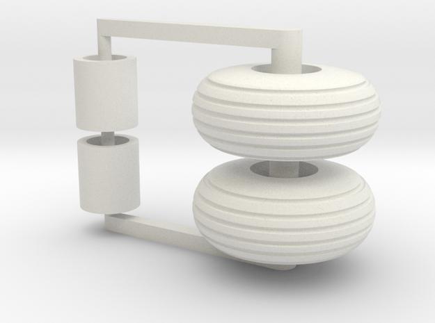 16.5L15 Set in White Natural Versatile Plastic