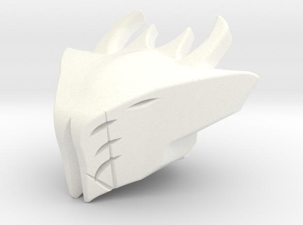 Helm Of Darkblade in White Processed Versatile Plastic