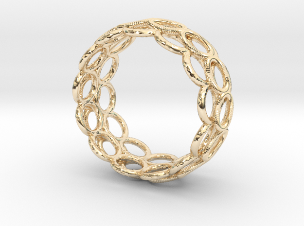 RingRingRing in 14K Yellow Gold