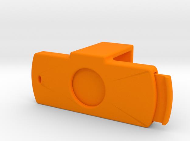 Webcam Cover - Logitech C920 - w/ Sliding Shutter in Orange Strong & Flexible Polished