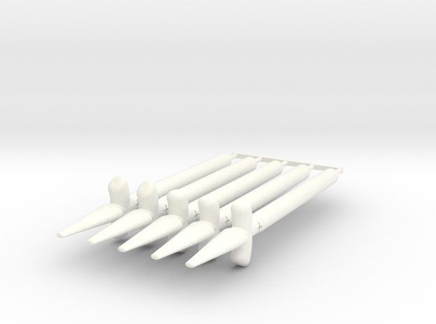 Sun Spear Pack in White Strong & Flexible Polished