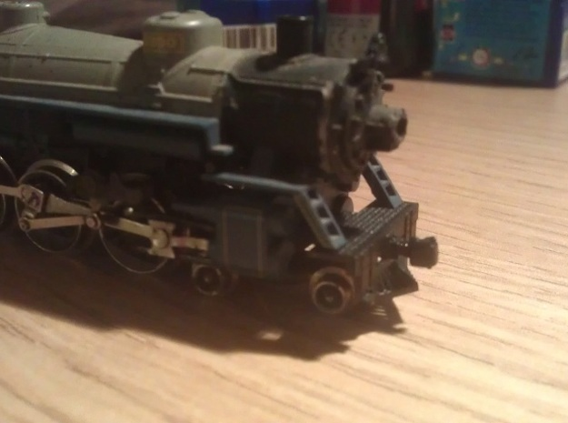 N Scale Atlas 4-6-2 Pilot (No Coupling) 3d printed