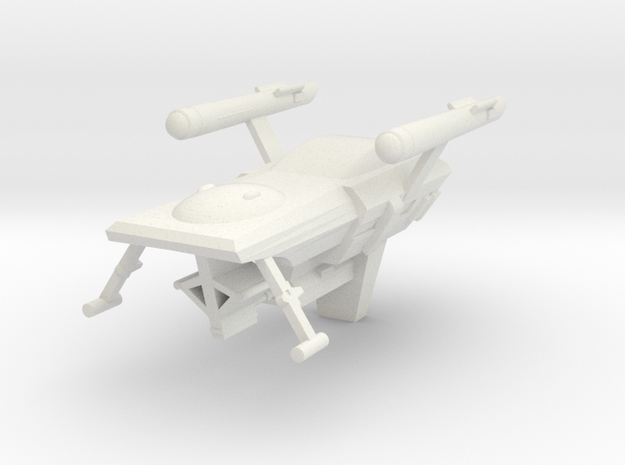 Huron, 1:3788 Scale in White Natural Versatile Plastic