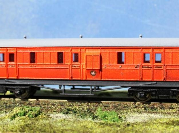 Great Northern Railway of Ireland: M2 Van. 3d printed M2 Van