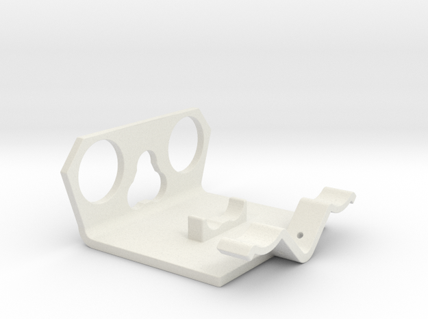 Power Cell Bracket #3 in White Natural Versatile Plastic