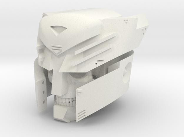 """Undead Autobot"" custom 1:6th scale head"