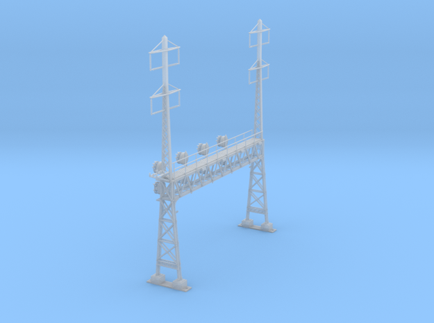 CATENARY PRR LATTICE SIG 4 TRACK 2-2PHASE N SCALE  in Smooth Fine Detail Plastic