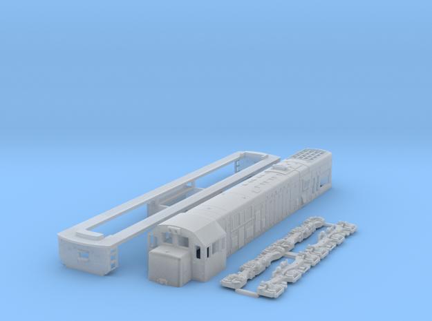 TT Scale U20c in Smooth Fine Detail Plastic
