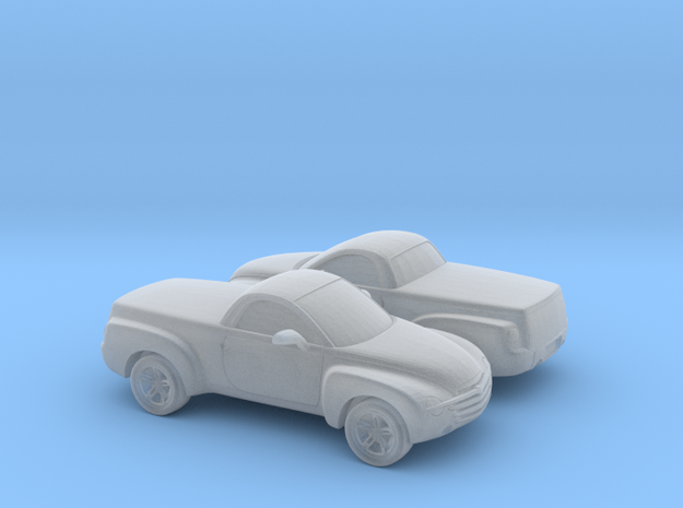 1/200 2X 2003-06 Chevrolet SSR in Smooth Fine Detail Plastic