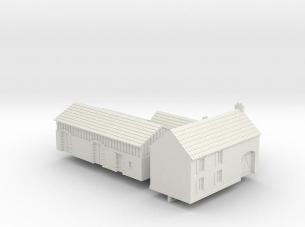1:285 Two farm houses.