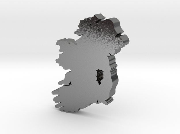 Kildare Earring in Polished Silver