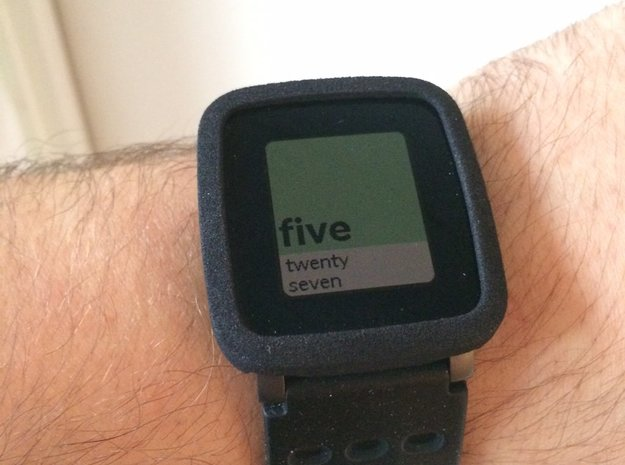 Pebble Time Steel Bumper Cover