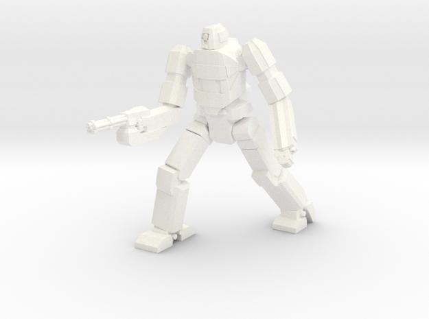 Chimera Advanced Battlesuit Walker Mode in White Processed Versatile Plastic